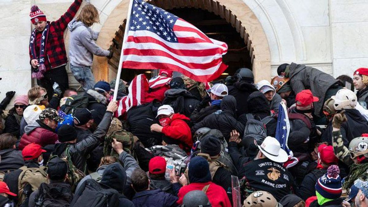 Trump supporter screamed 'we ride for Trump we die for Trump' as mob stormed the Capitol: prosecutors