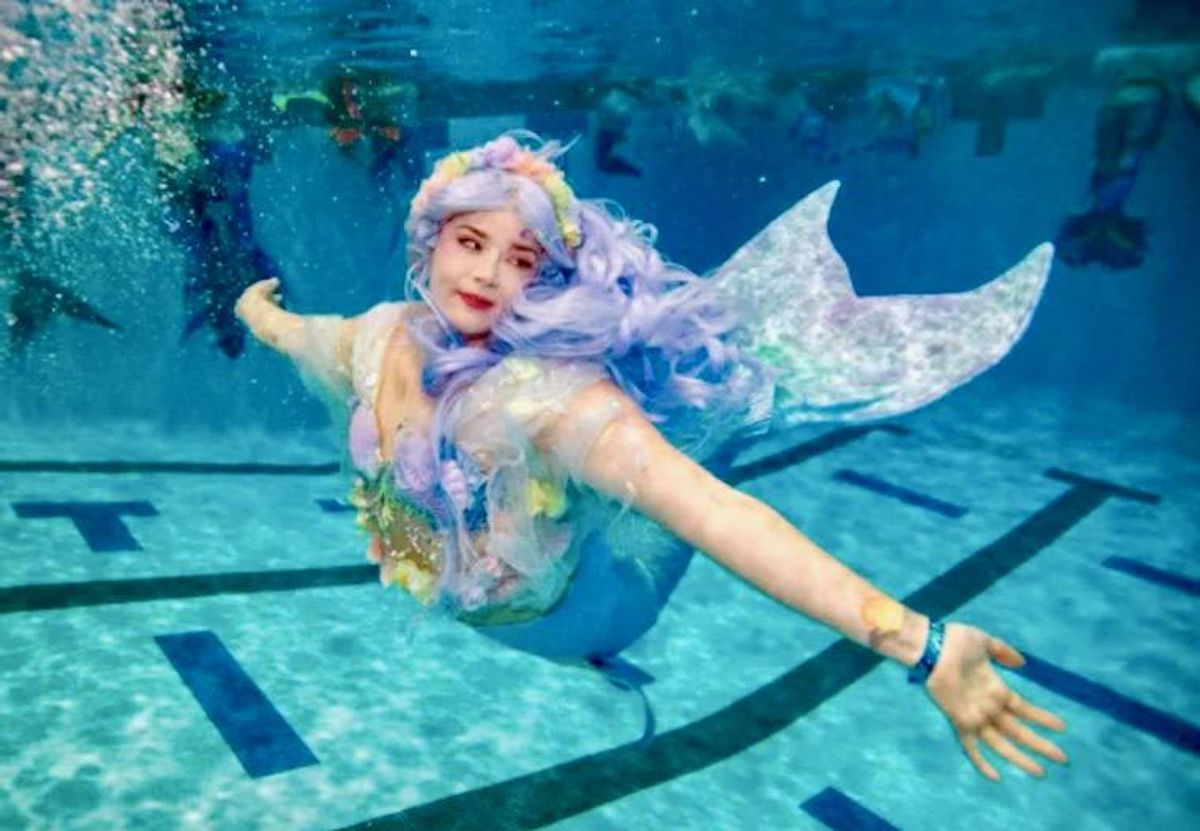 Part of our world: Mermaids mingle at US convention