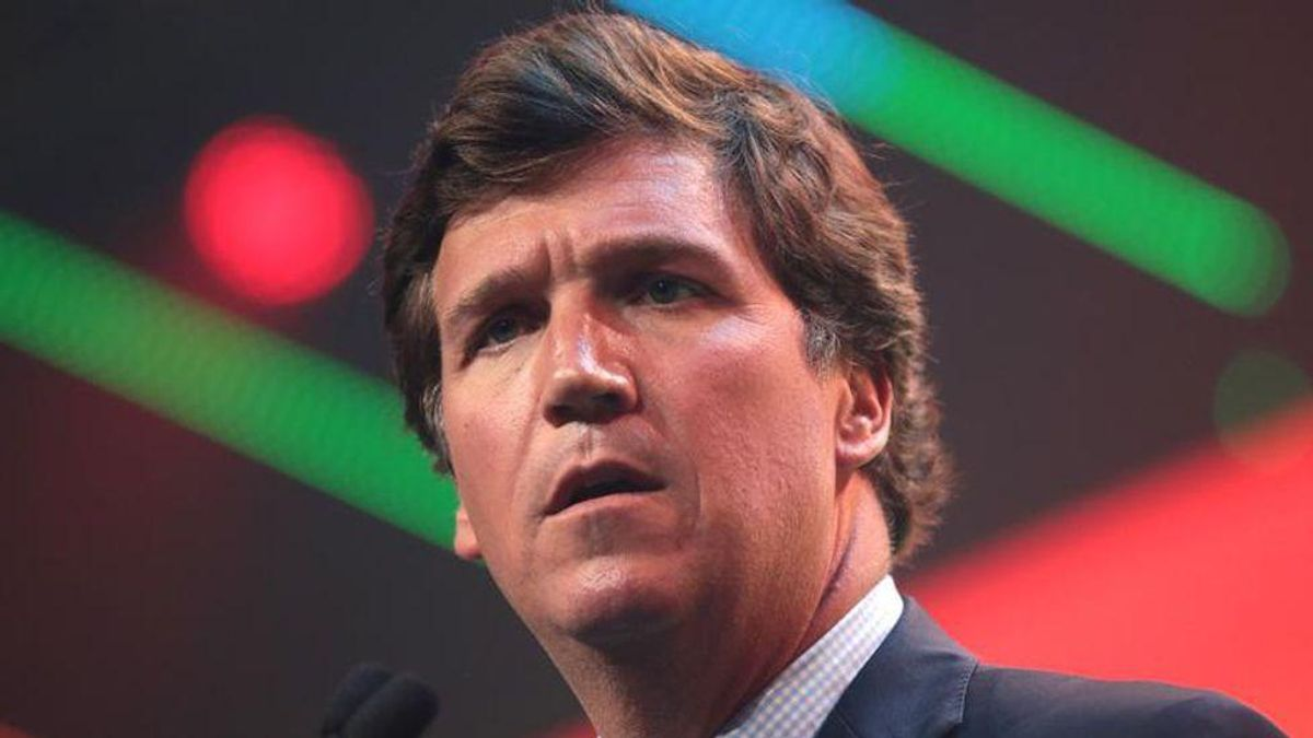 Tucker Carlson mocked after claiming Hungary isn't 'repressive' — then having his own interview censored