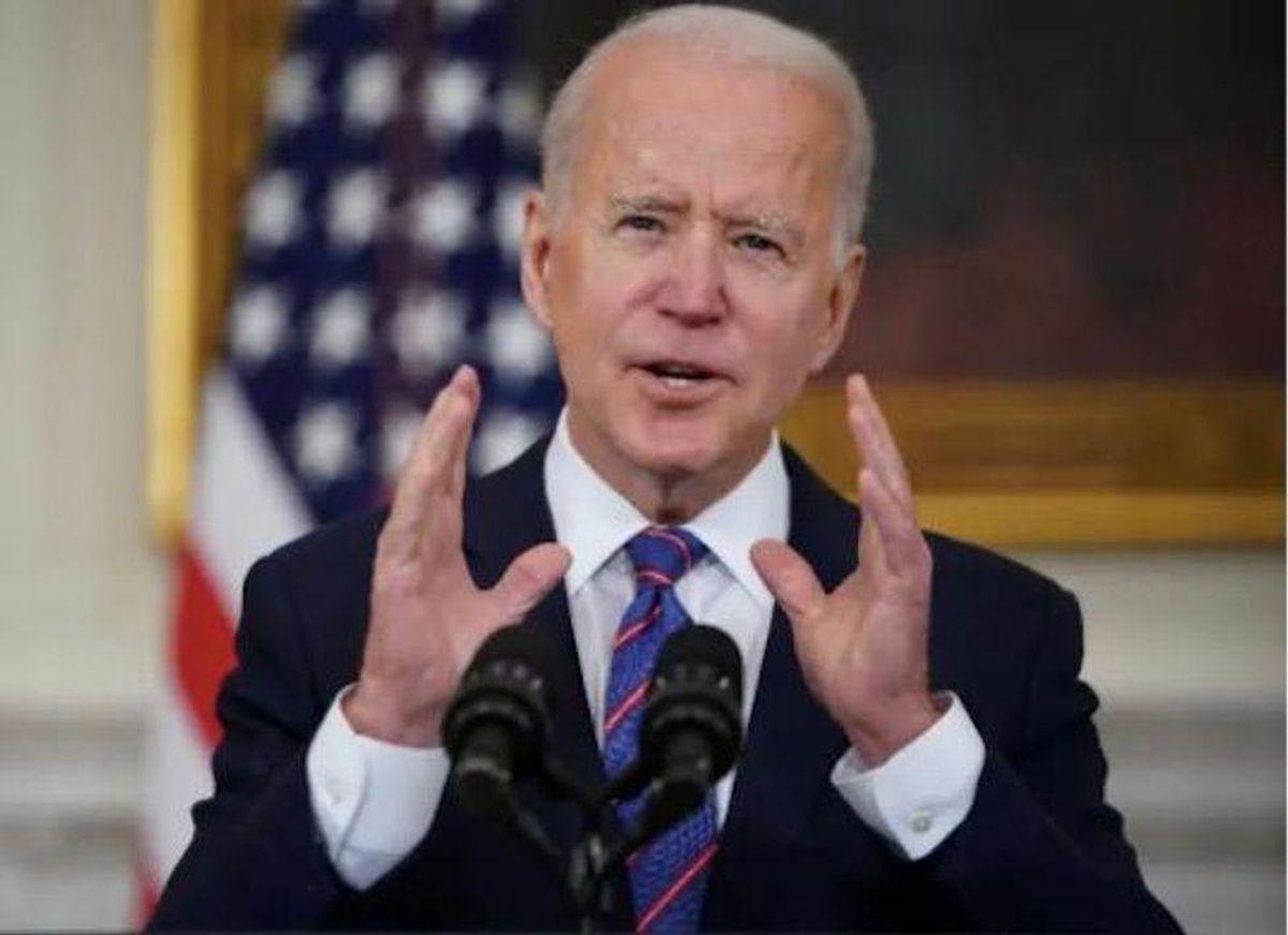 Biden unmoved on Afghan exit as Taliban sweep provinces
