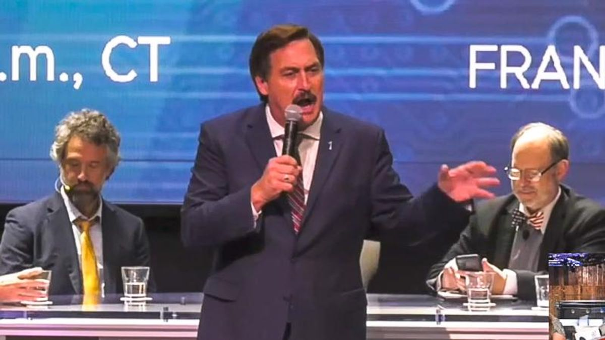 Mike Lindell delays start of 'cyber symposium' after claiming to be hacked