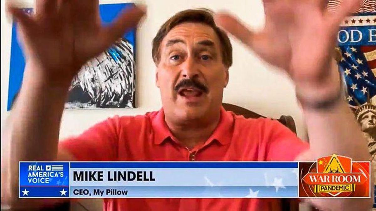 Mike Lindell's 'complete gibberish and nonsense' will get hilariously destroyed in court: MSNBC's Charlie Sykes