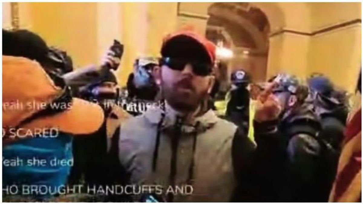 Capitol rioter Proud Boy says his autism prevents him from wearing a mask while in court