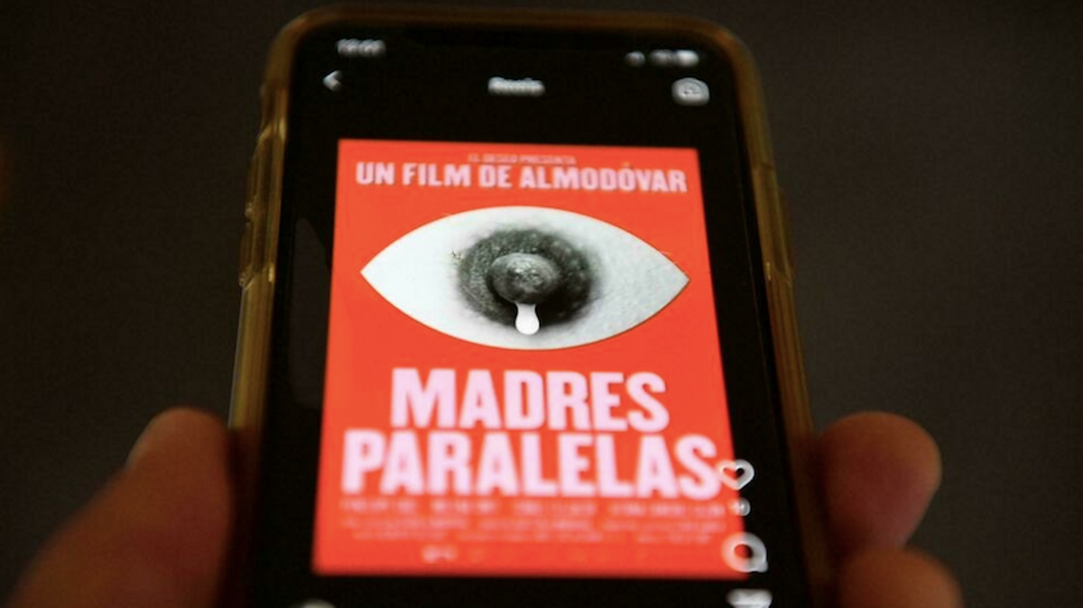 Instagram 'sorry' after pulling poster for new Almodovar film