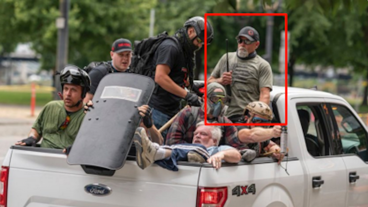 'Troubling escalation': DOJ seeks to bar Capitol rioter from possessing guns after he showed up armed to Portland clash