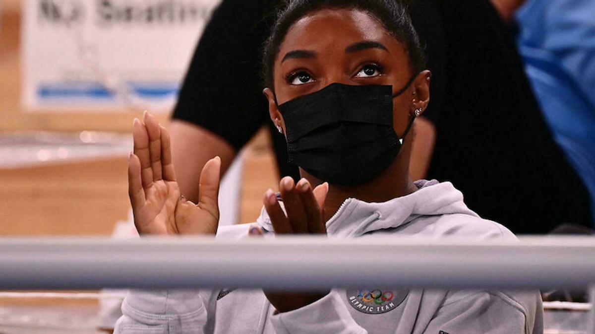 Simone Biles on start list for Olympics beam final