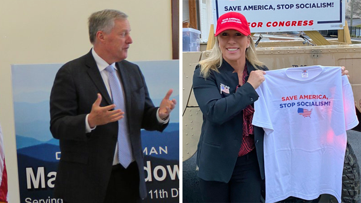 Trump's former chief of staff is teaming with QAnon congresswoman for fundraising extravaganza: report