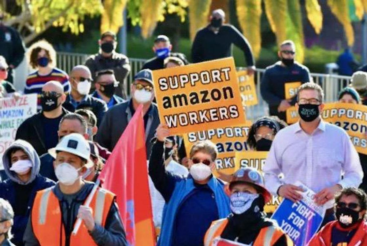 New vote recommended in US Amazon union election