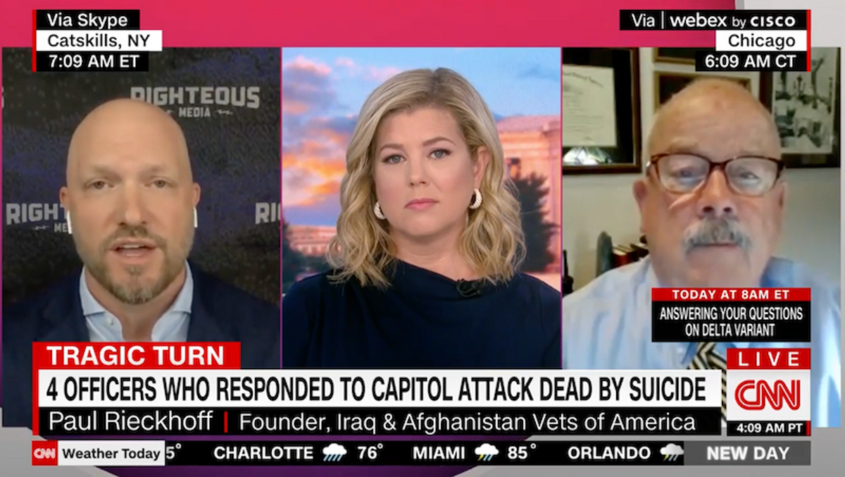 Fox News hosts blasted for 'disgusting' and 'dangerous' ridicule of Capitol officers after fourth suicide
