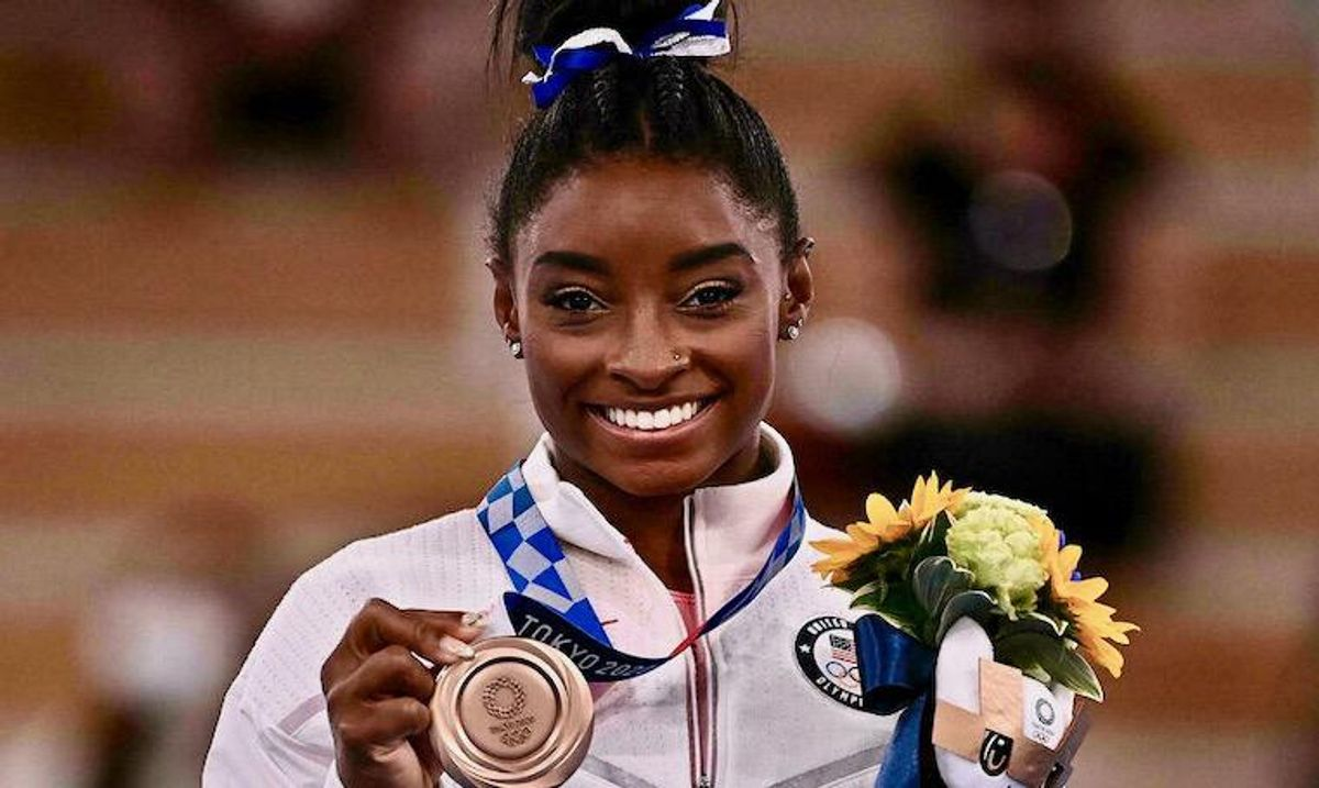 Simone Biles says she will 'forever cherish' her challenging Tokyo Olympics