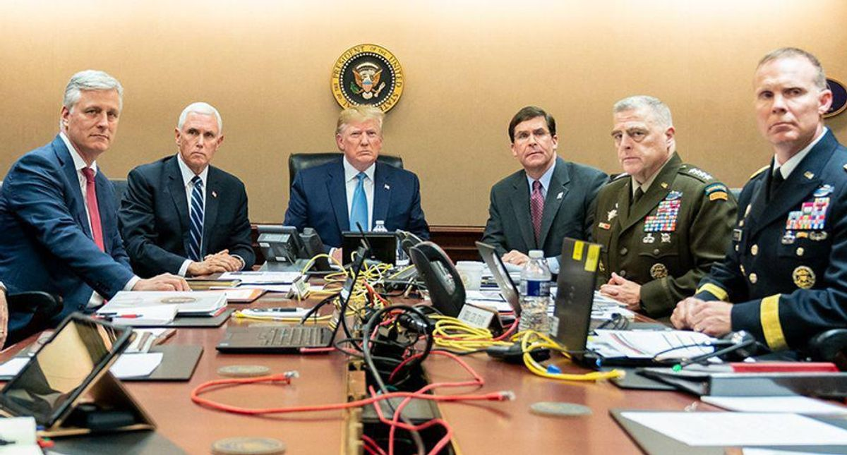 Trump's military advisors were 'throwing their bodies in front of something dangerous': biographers