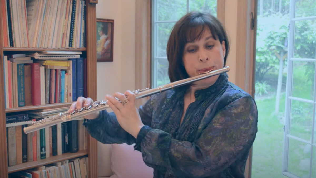 Flutist gets booted from Baltimore Symphony after promoting conspiracy theories about COVID-19