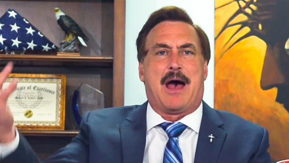 'The evil is revealing itself': Mike Lindell explains why God kicked Trump out of the White House