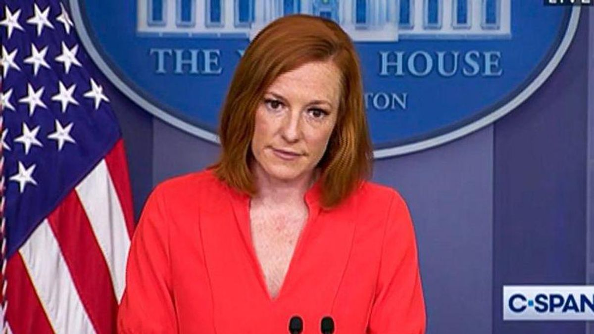Jen Psaki owns Ron DeSantis after he complains about being 'singled out' — and lays out his deadly record on COVID