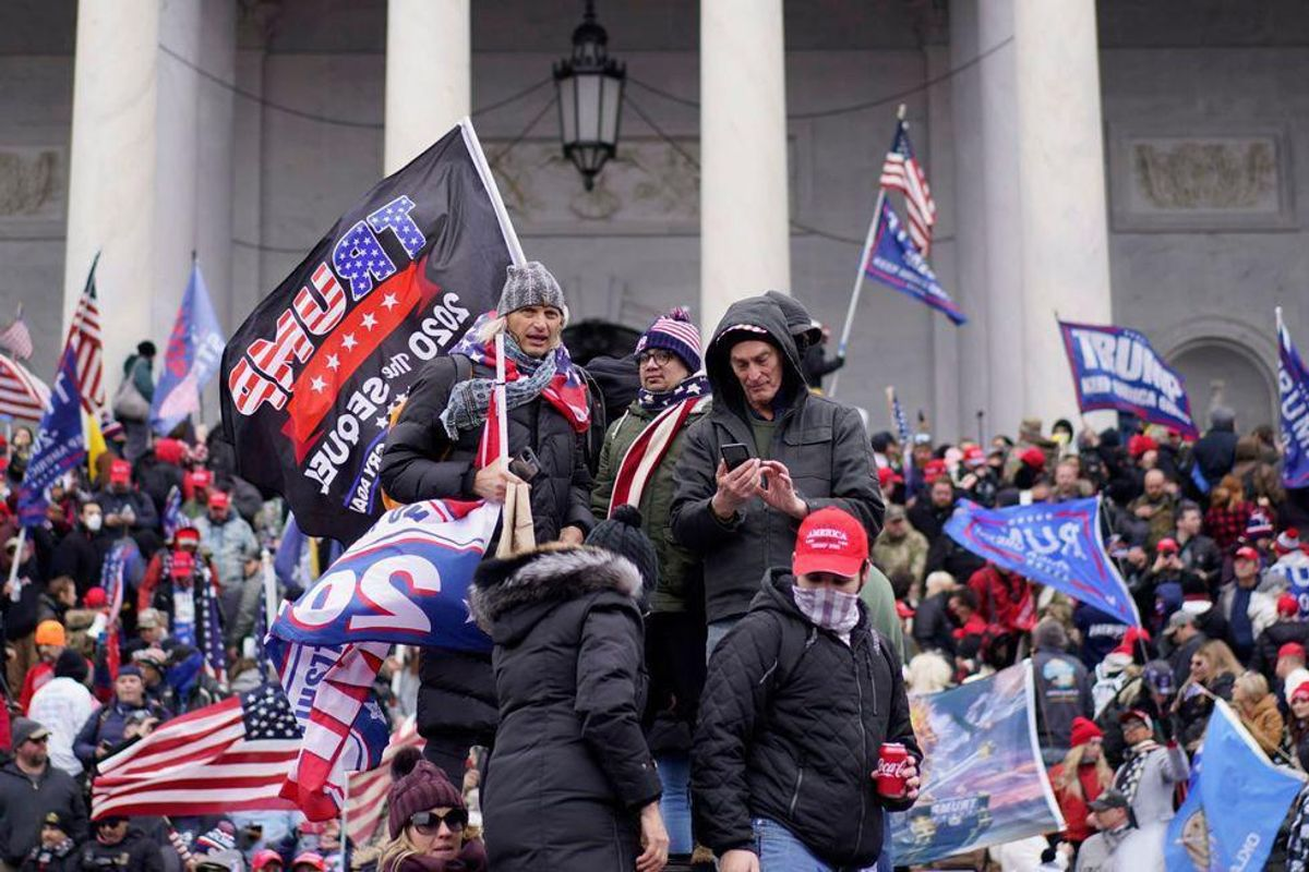 MAGA rioter arrested after his mom bragged about him storming the Capitol on Facebook: feds