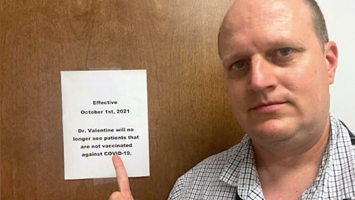 'No conspiracy theories, no excuses': Alabama physician tells patients to get vaccinated or find a new doctor