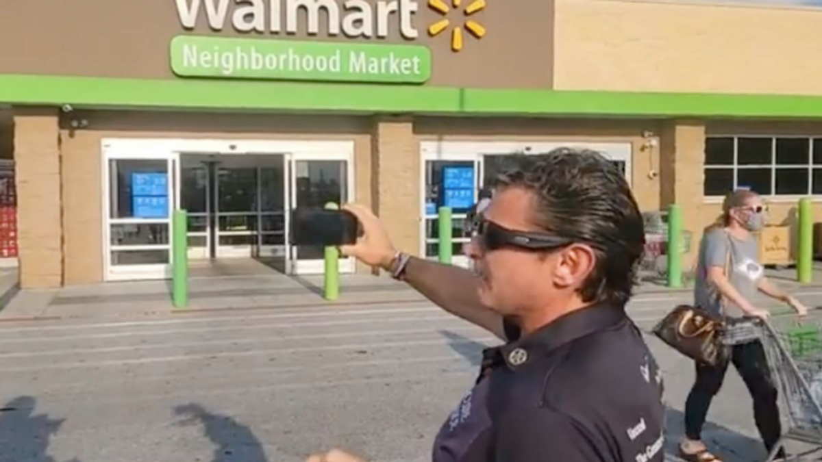 Bellowing anti-vaxxers terrify Walmart workers with execution threats -- and it's all caught on video