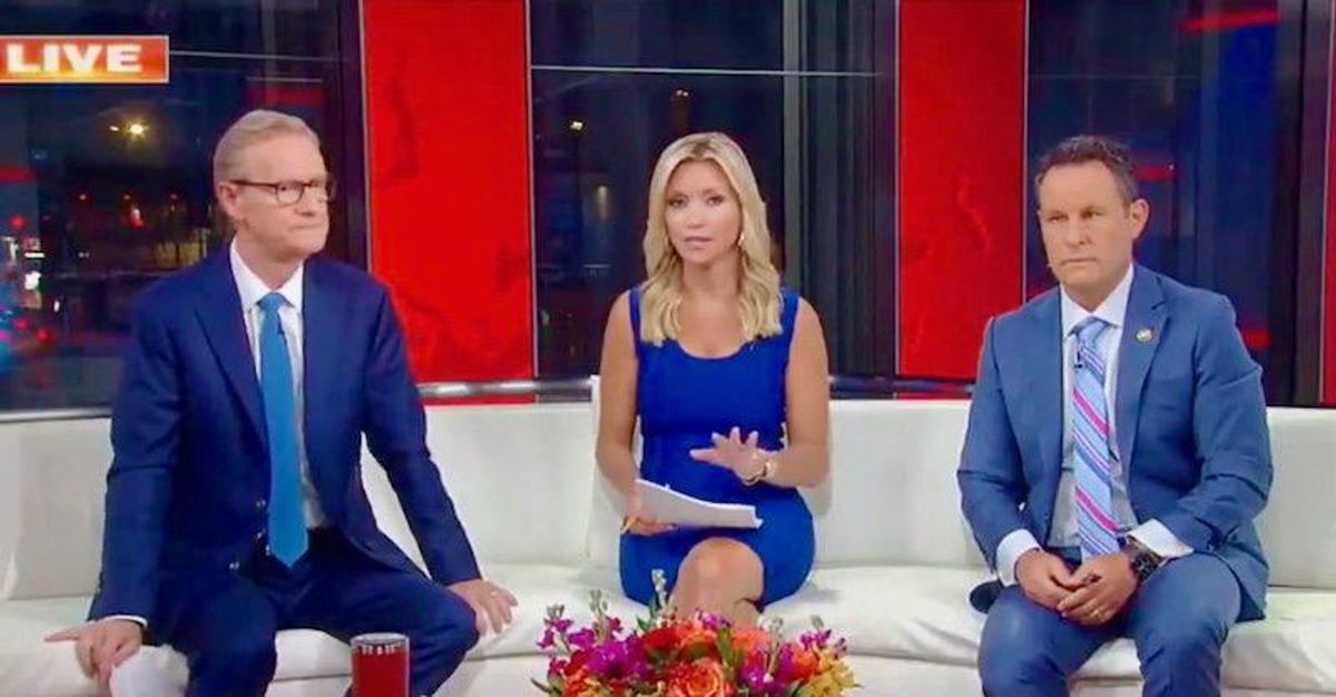 Fox & Friends joins right-wing Regeneron cult: Antibody treatment is 'basically still getting vaccinated'