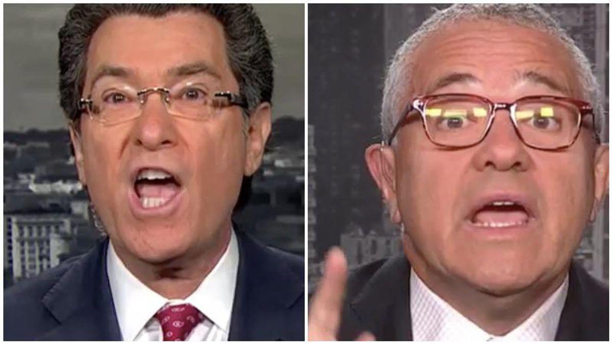 'He's a serial liar!' Fiery debate erupts on CNN as legal analysts clash over Trump's denials of law-breaking
