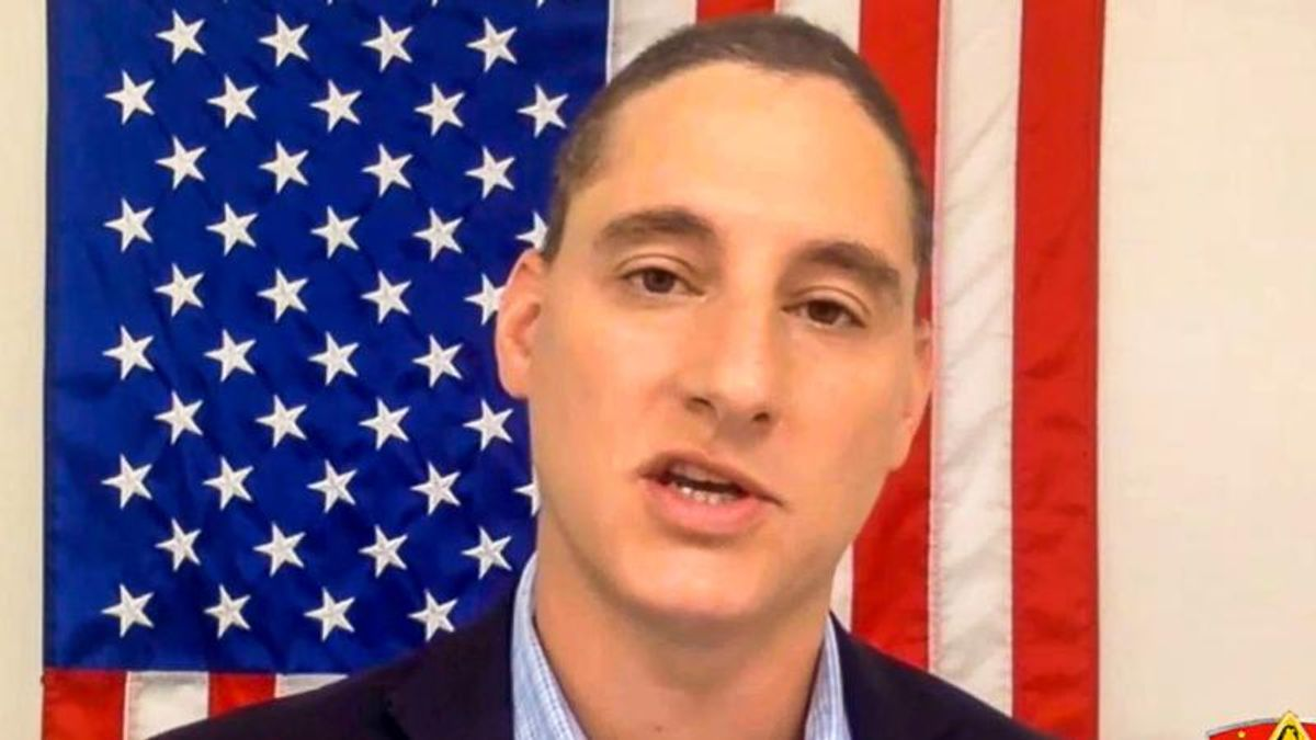 'We have to arm up': GOP Senate candidate says guns are the answer to 'tyranny' of face masks