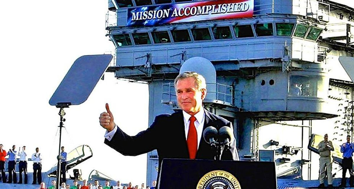 No, George W. Bush doesn't deserve a pass on Afghanistan