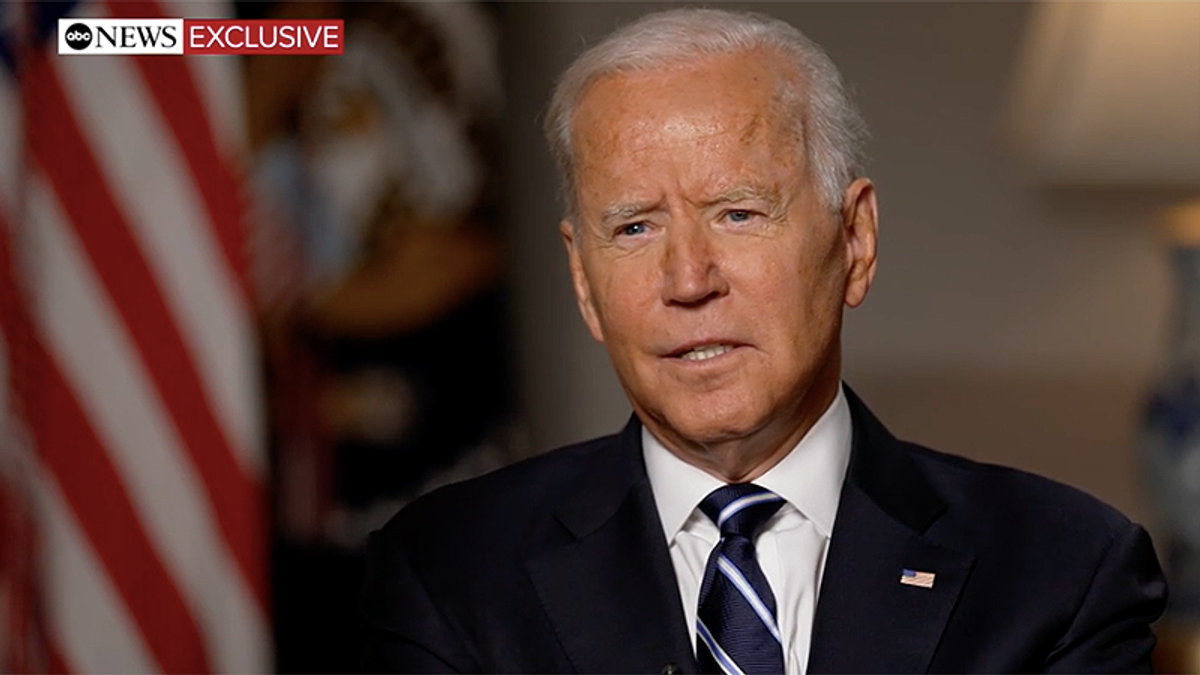 Biden expects at least 50,000 Afghans to be flown out — but he won't commit to staying past August
