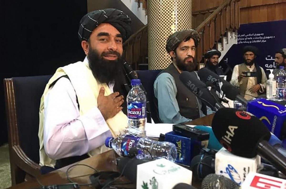 Russian TV used Taliban amusement park outing to show they're not dangerous — then the Taliban burned it down