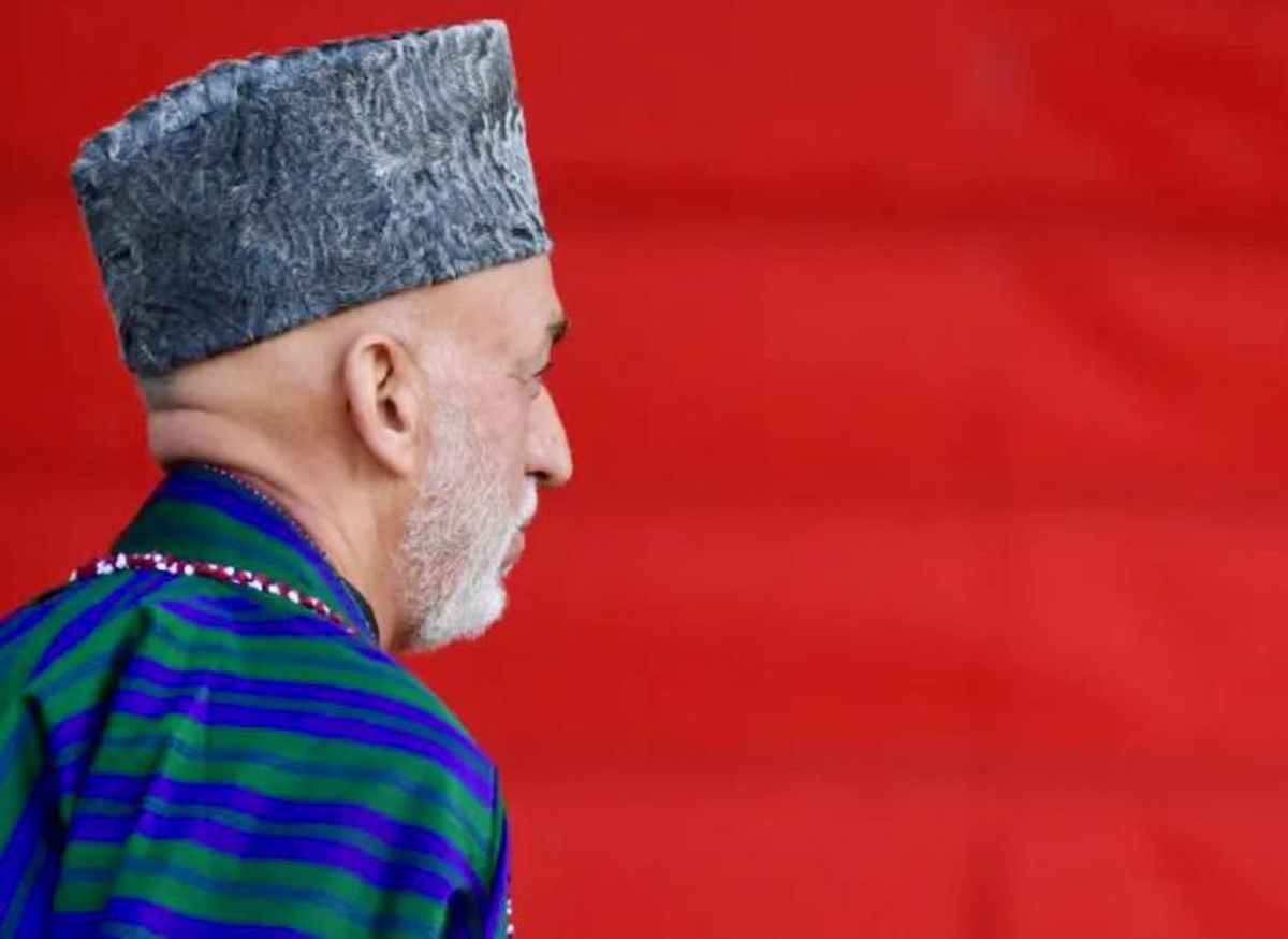 In from the cold: the return of former Afghan leader Hamid Karzai