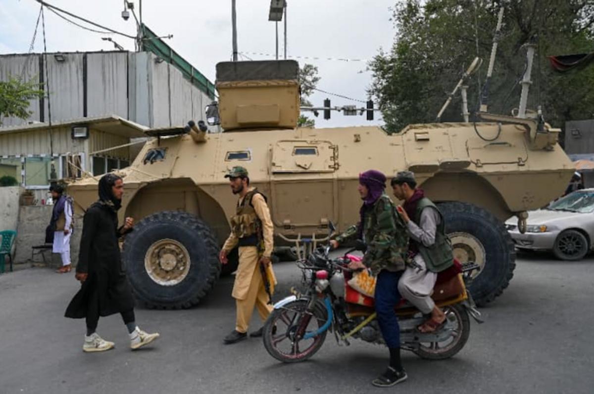 Taliban's arms seizures embarrass Washington