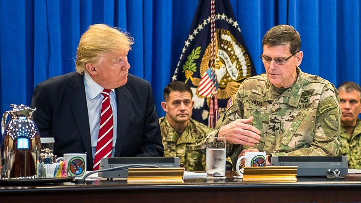 Ex-national security director: Trump said Afghan military won't 'last two days' but made Taliban deal anyway