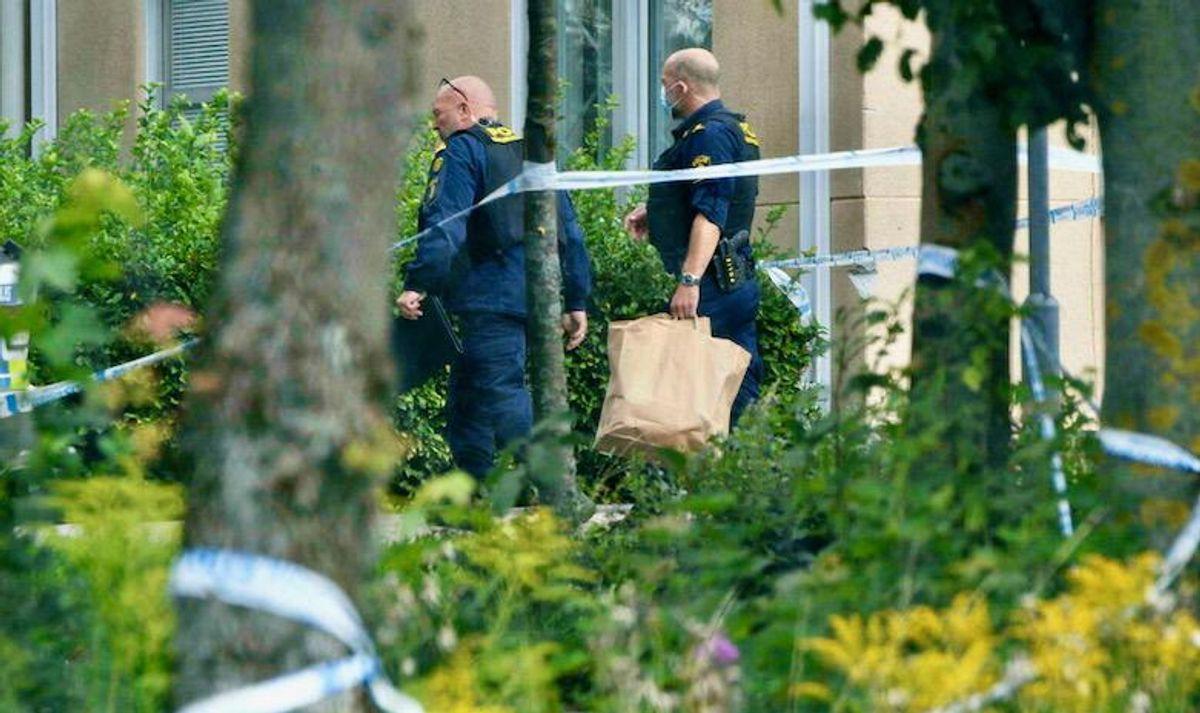 Teen arrested in Sweden after school attack