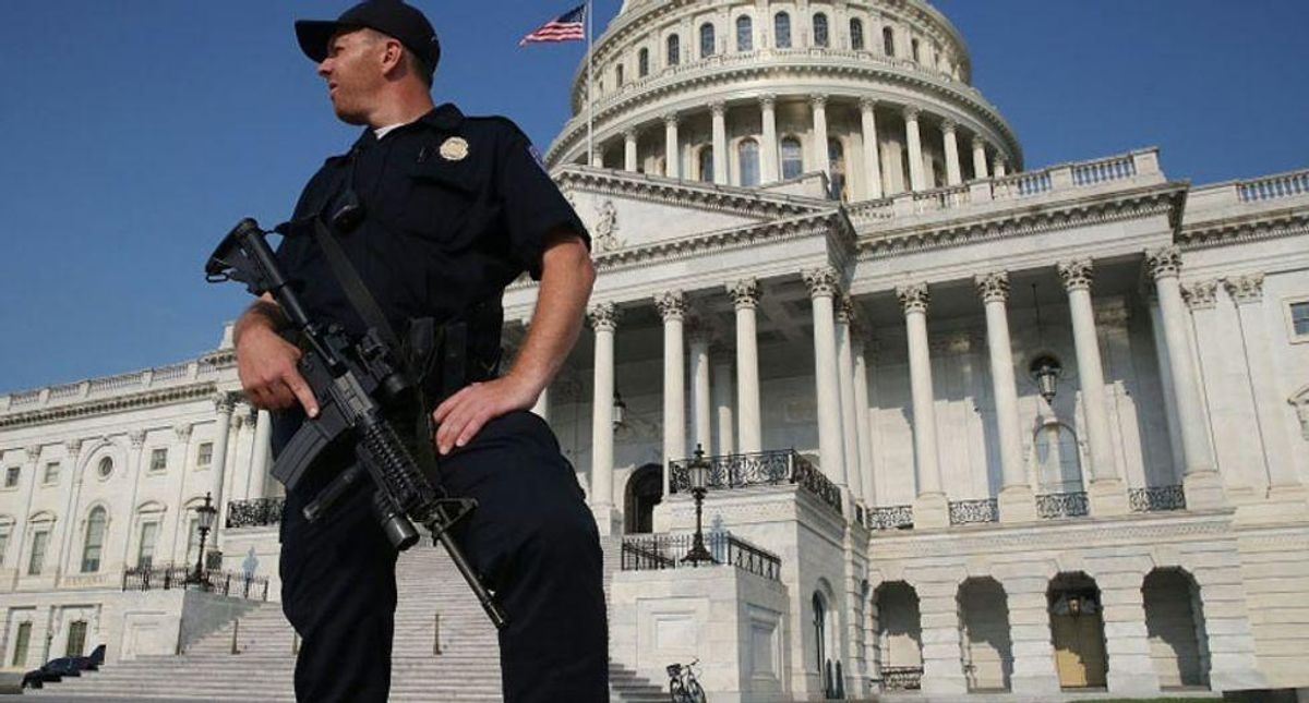 Homeland Security warned of potential domestic extremist violence just six days ago