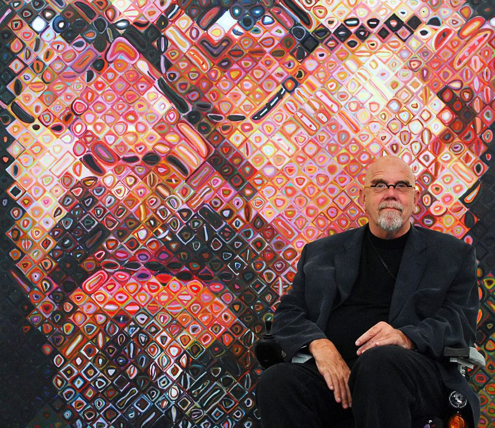 Chuck Close, renowned photorealist painter, dies at age 81