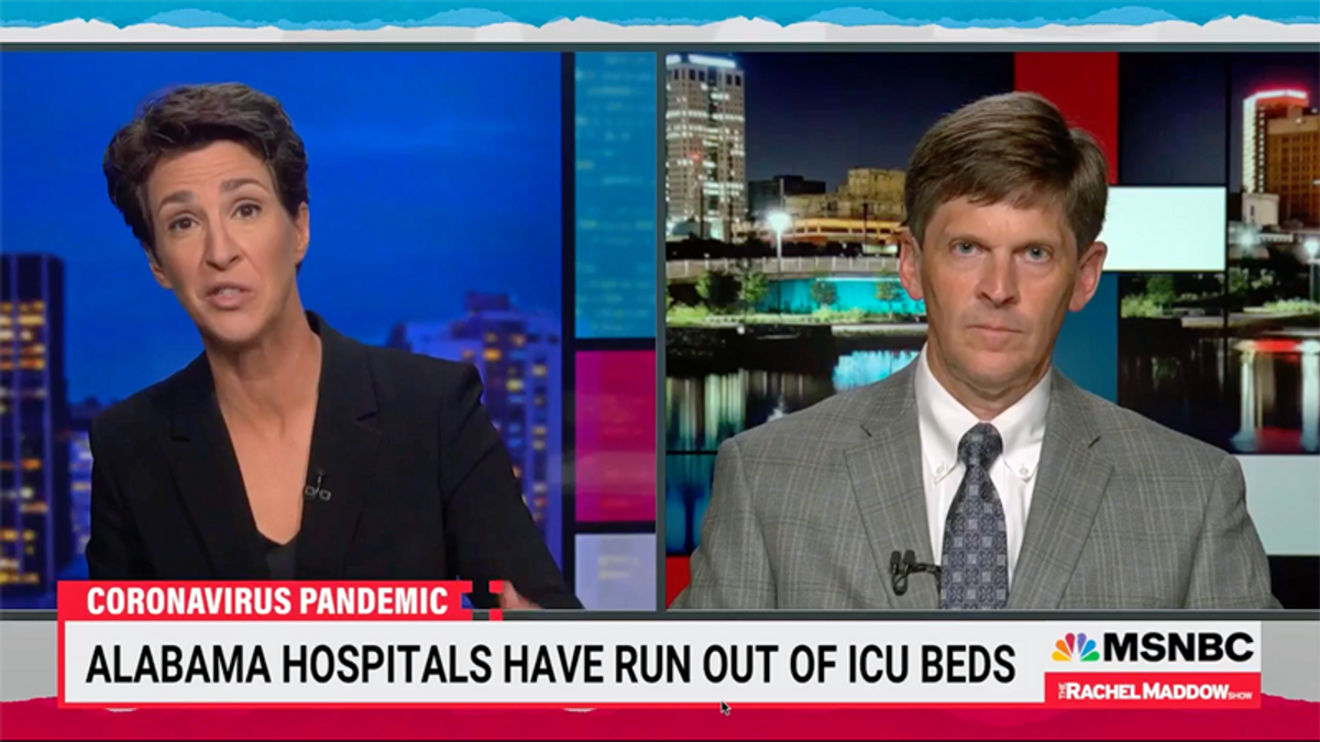 'I'm very scared': Alabama doctor details 'catastrophic consequences' of state's hospital collapse