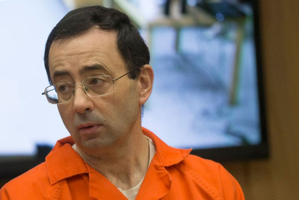 Feds seize Larry Nassar's stimulus checks for victim restitution
