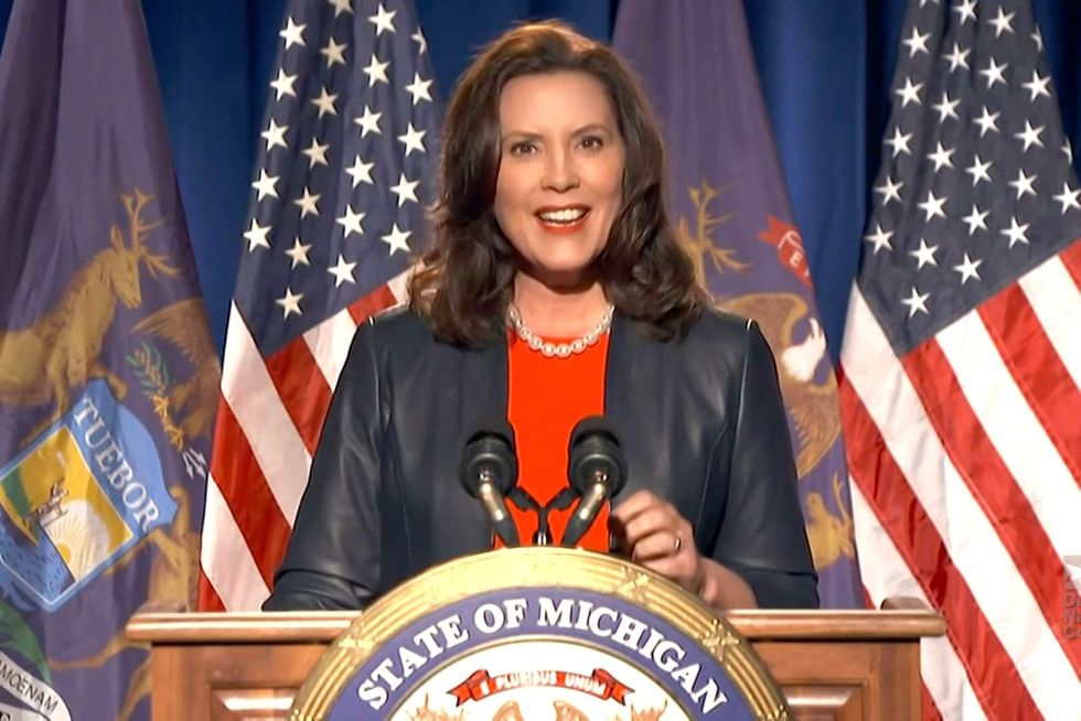 Michigan's Gov. Whitmer was briefly asked to remove sheriff probing 'election fraud'