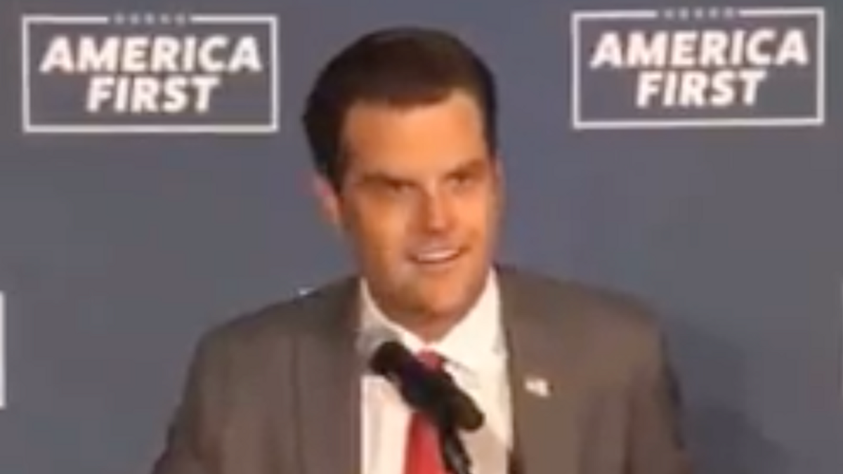 'Projection is a hell of a drug': Matt Gaetz mocked after calling Fauci 'a sniveling little twit'