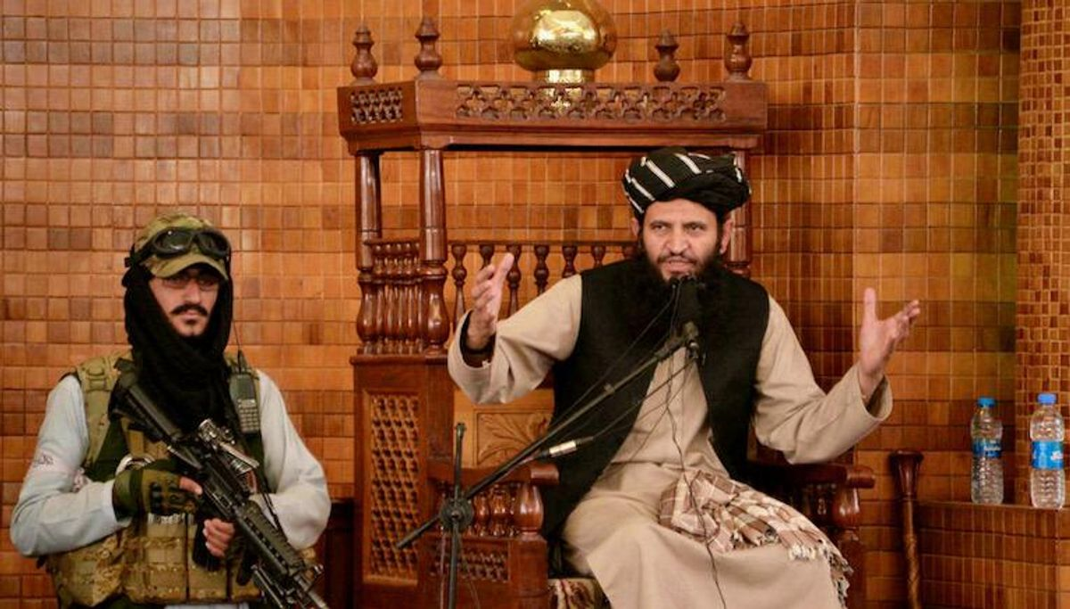 Somber mood as Taliban are back at Friday prayers