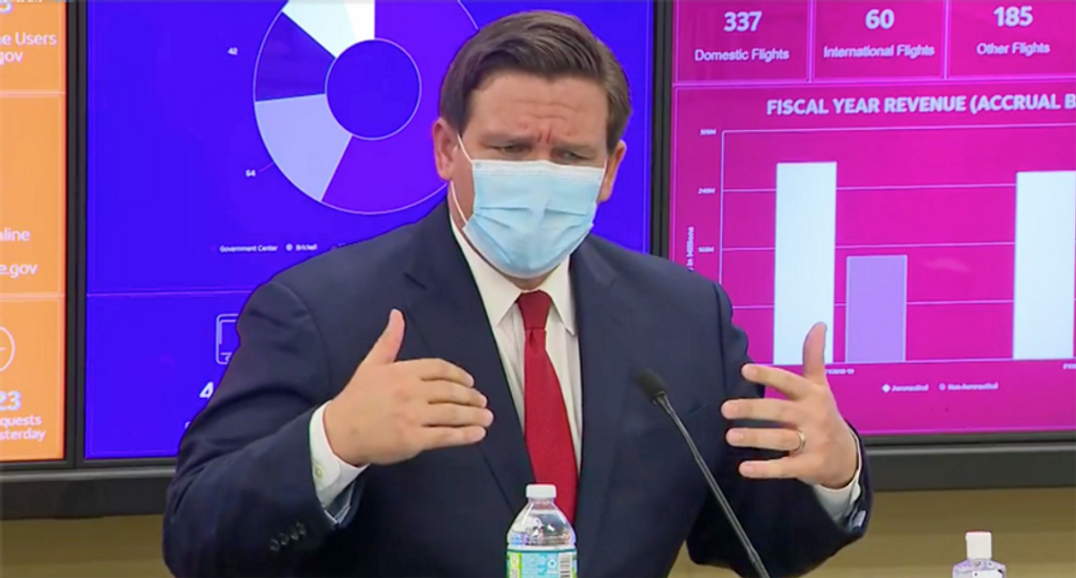 Ron DeSantis administration starts withholding funds to punish schools for defying his mask mandate ban