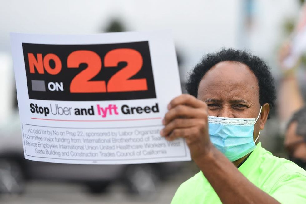 California 'gig worker' ballot initiative backed by Uber and Lyft ruled unconstitutional