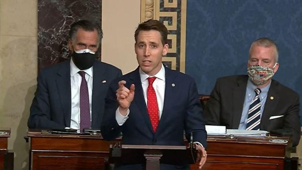 Josh Hawley's call for Biden to resign trolled in key local newspaper