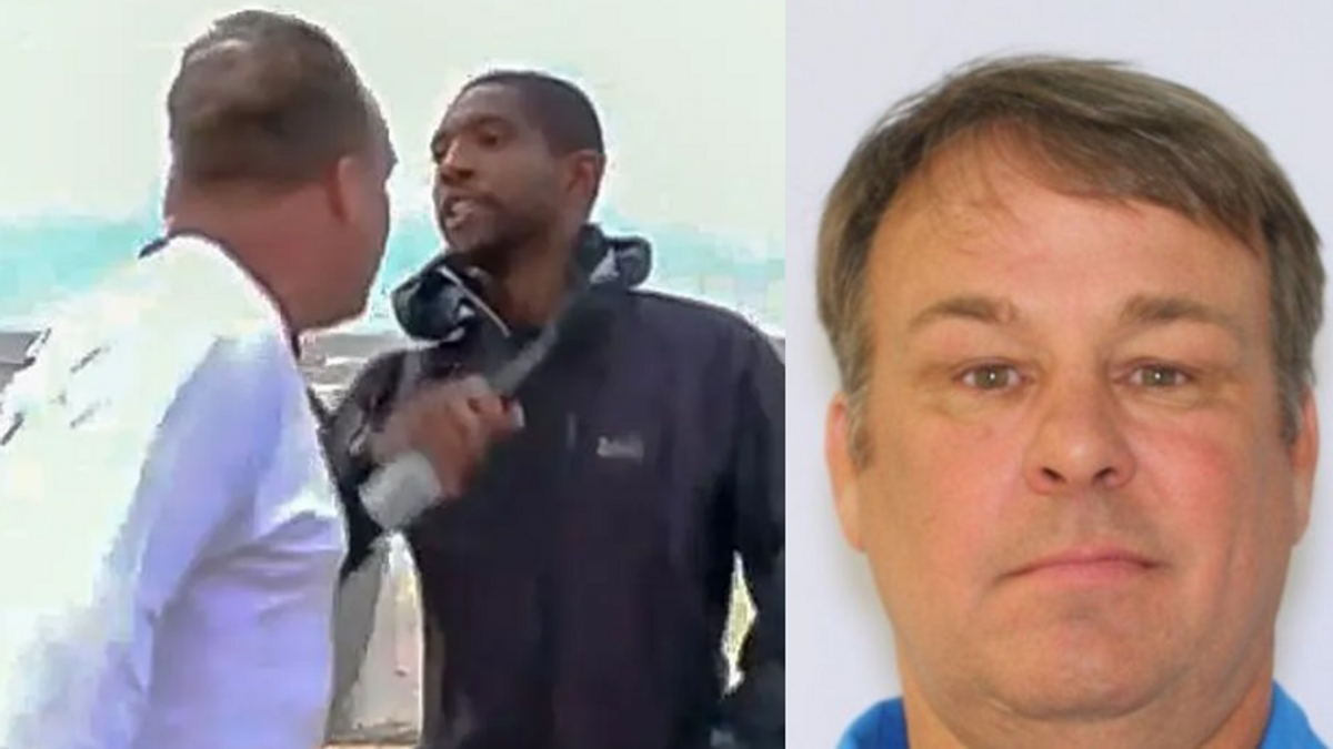 Criminal history of 'angry white man' revealed after he attacks on-air NBC reporter in Mississippi