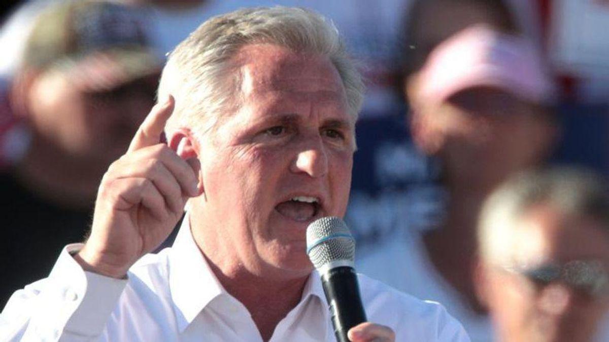 McCarthy's 'gangster'threat signals 'dark future' of Putin-style shakedowns if GOP takes House: columnist