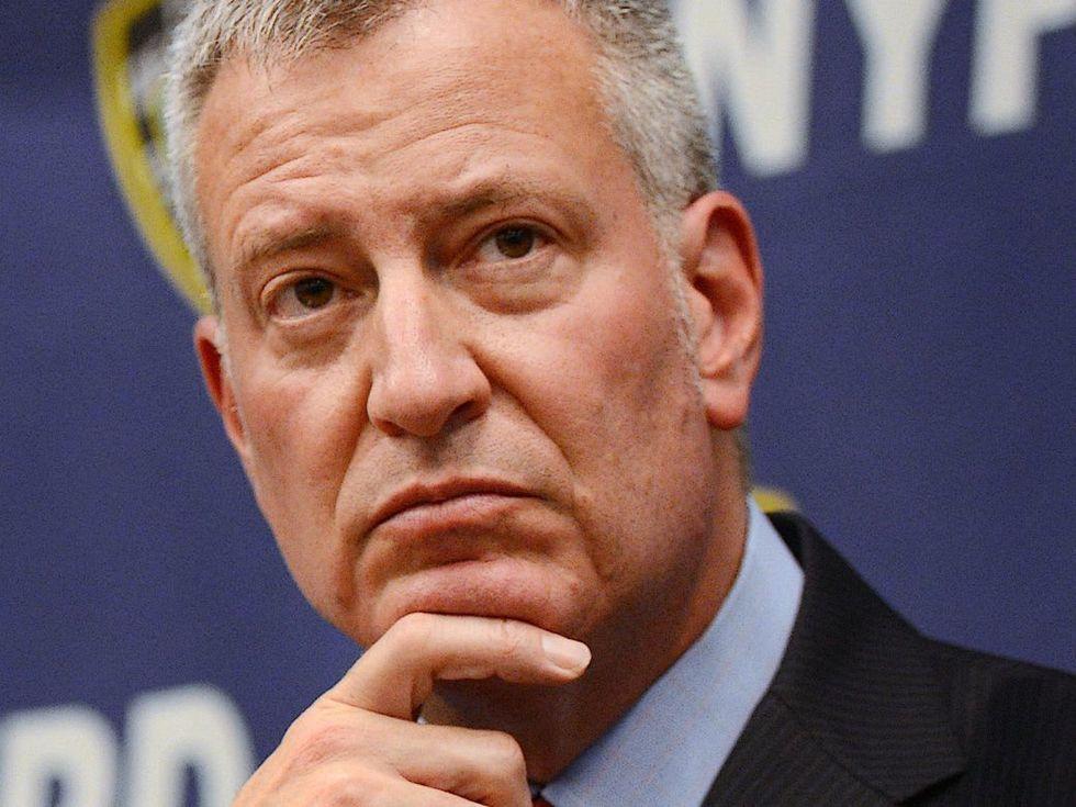 De Blasio opens door to New York governor run in 2022