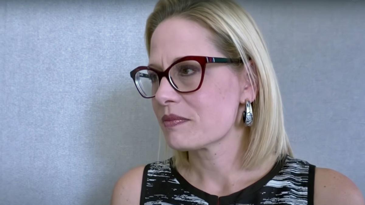 Liberals 'bullying' Kyrsten Sinema on democracy likened to sexual predators by Arizona columnist