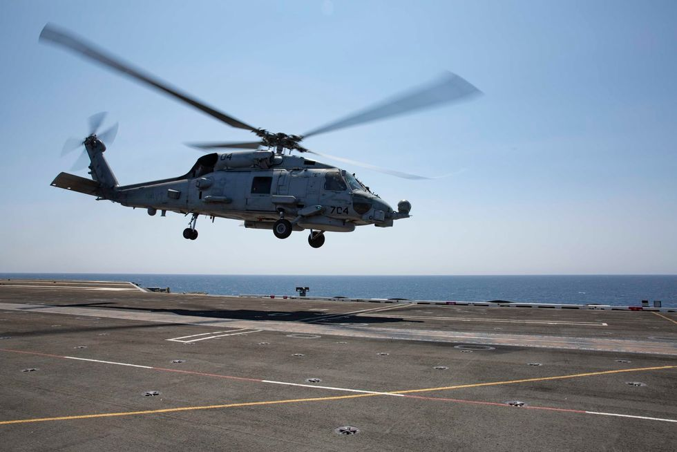 5 sailors presumed dead in Navy helicopter crash near San Diego; search suspended