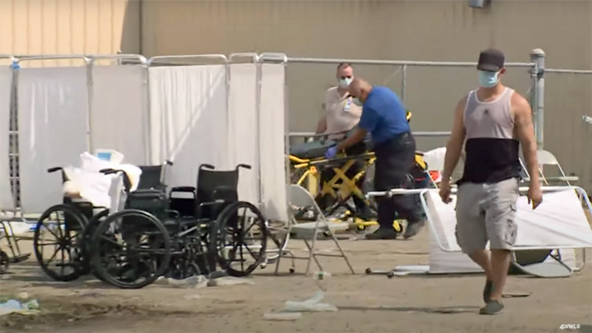 Louisiana shuts down nursing homes after 7 deaths in warehouse used as hurricane shelter