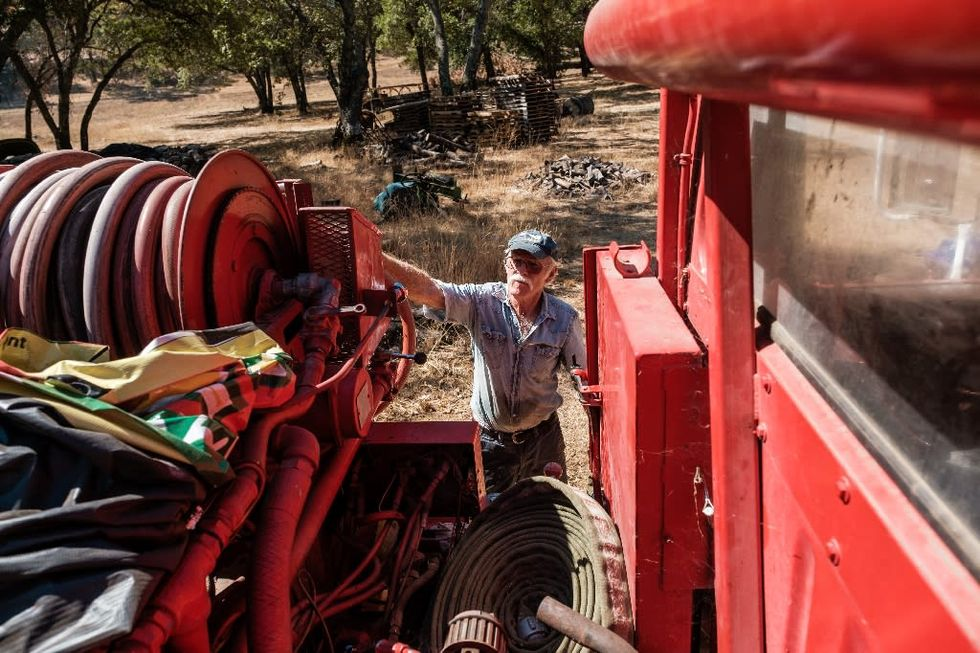 California winemakers take wildfire-fighting into their own hands