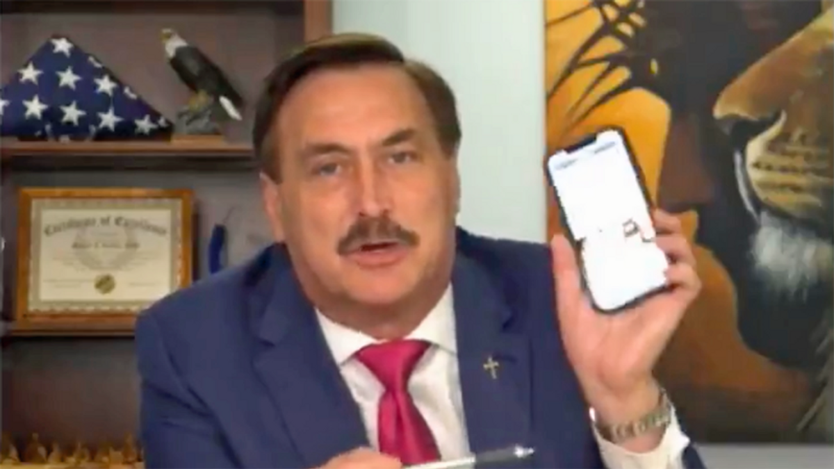 Mike Lindell vows to 'go after' reporter the MyPillow CEO branded 'an enemy of our country'