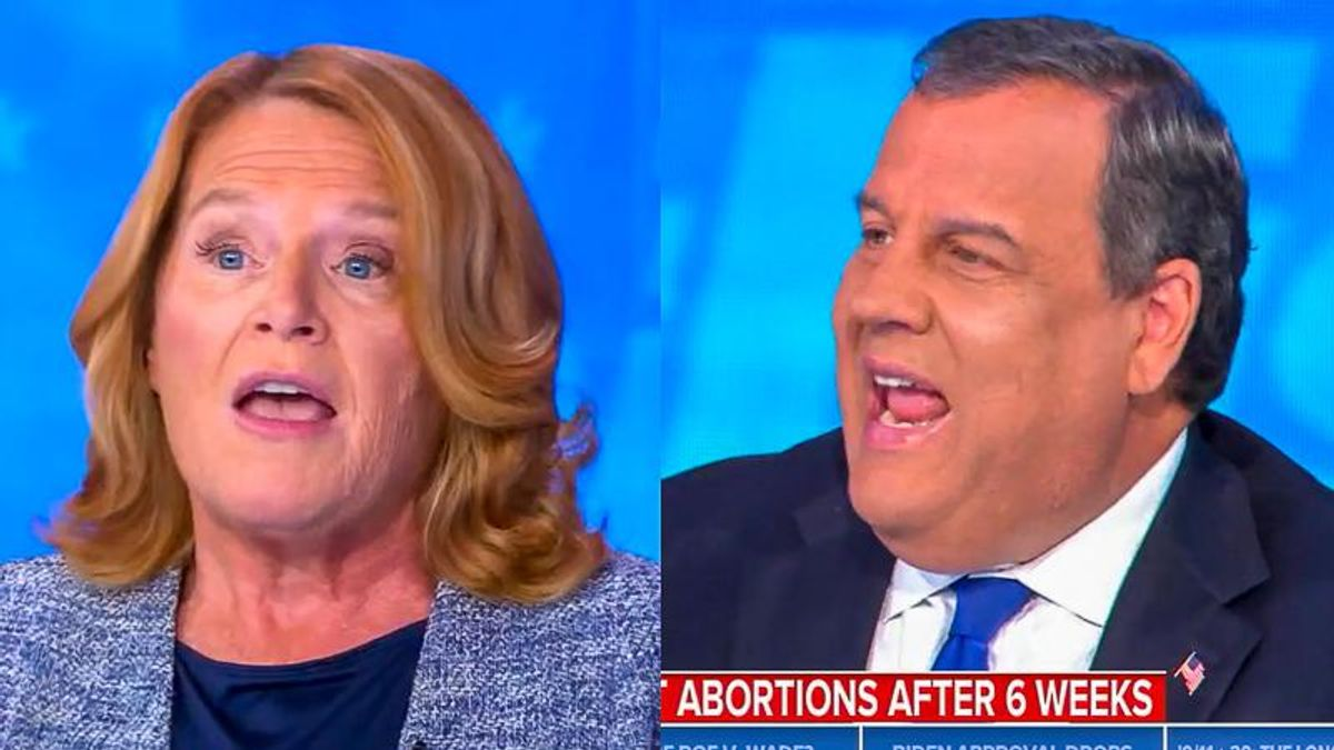 Heidi Heitkamp shreds Chris Christie after he says women should lose abortion rights because of 'science'
